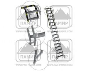Лестница приставная алюминиевая ЛПА-4,3 А