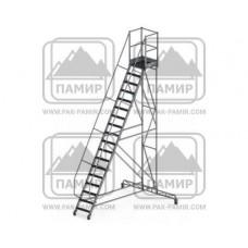 Стремянки передвижные алюминиевые (СПА)