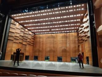 Реализован проект акустической раковины для второй сцены Мариинского театра, Санкт-Петербург