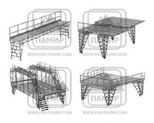 Стремяночные эстакады для самолёта Ил-76