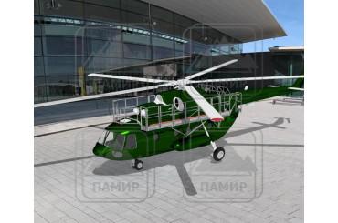 Подвесные алюминиевые площадки для МИ-8